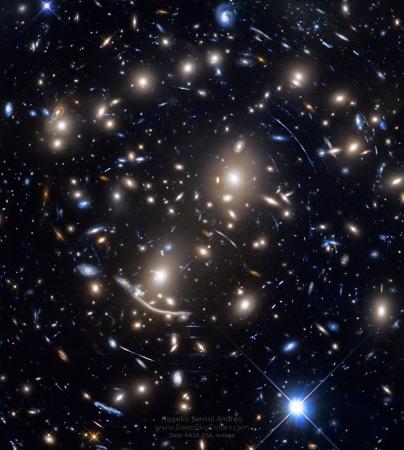 20190319 Abell370Arcs_HubbleAndreo_960