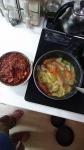 椎茸の軸とお料理