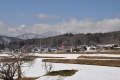 新行高原の雪景色
