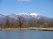冠雪した浅間山