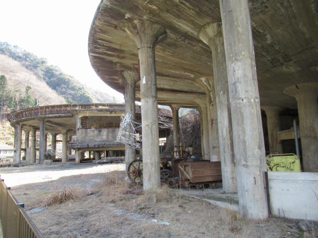 神子畑選鉱場跡6