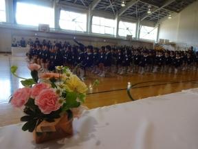 152名・5クラスの1年生