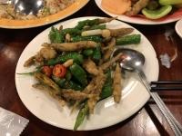 小魚とシシトウ炒め190322