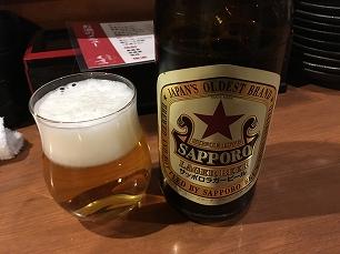 190228くさの@瓶ビール