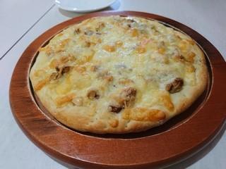 s310iwanumabaseでナッツピザ