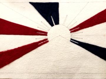 2019:3:17チベット国旗創り5