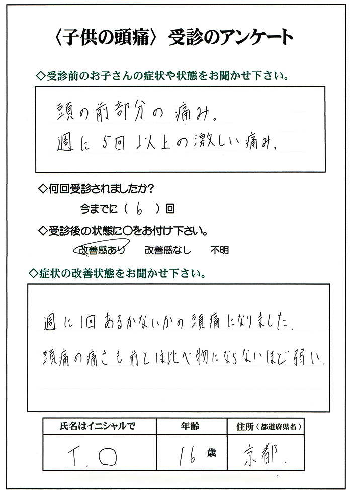 子供,頭痛,京都,大阪,名古屋