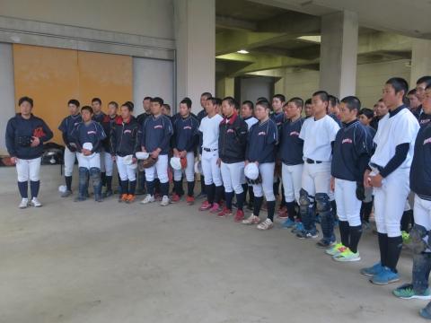 「茨城県立石岡一高野球部 甲子園初出場激励訪問」①