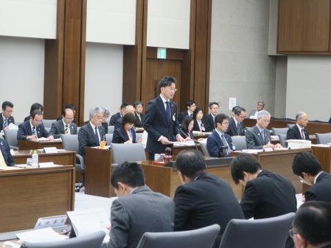 「予算特別委員会」1日目③