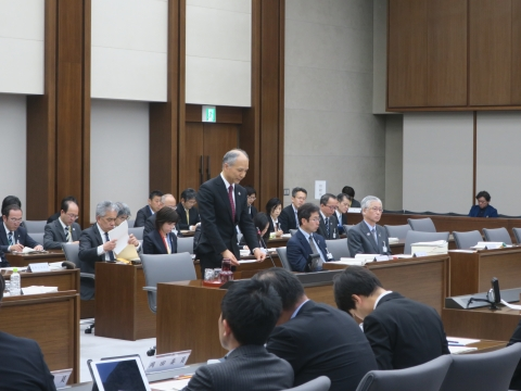 「予算特別委員会」1日目⑤