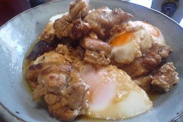 鶏モモ柔らか煮