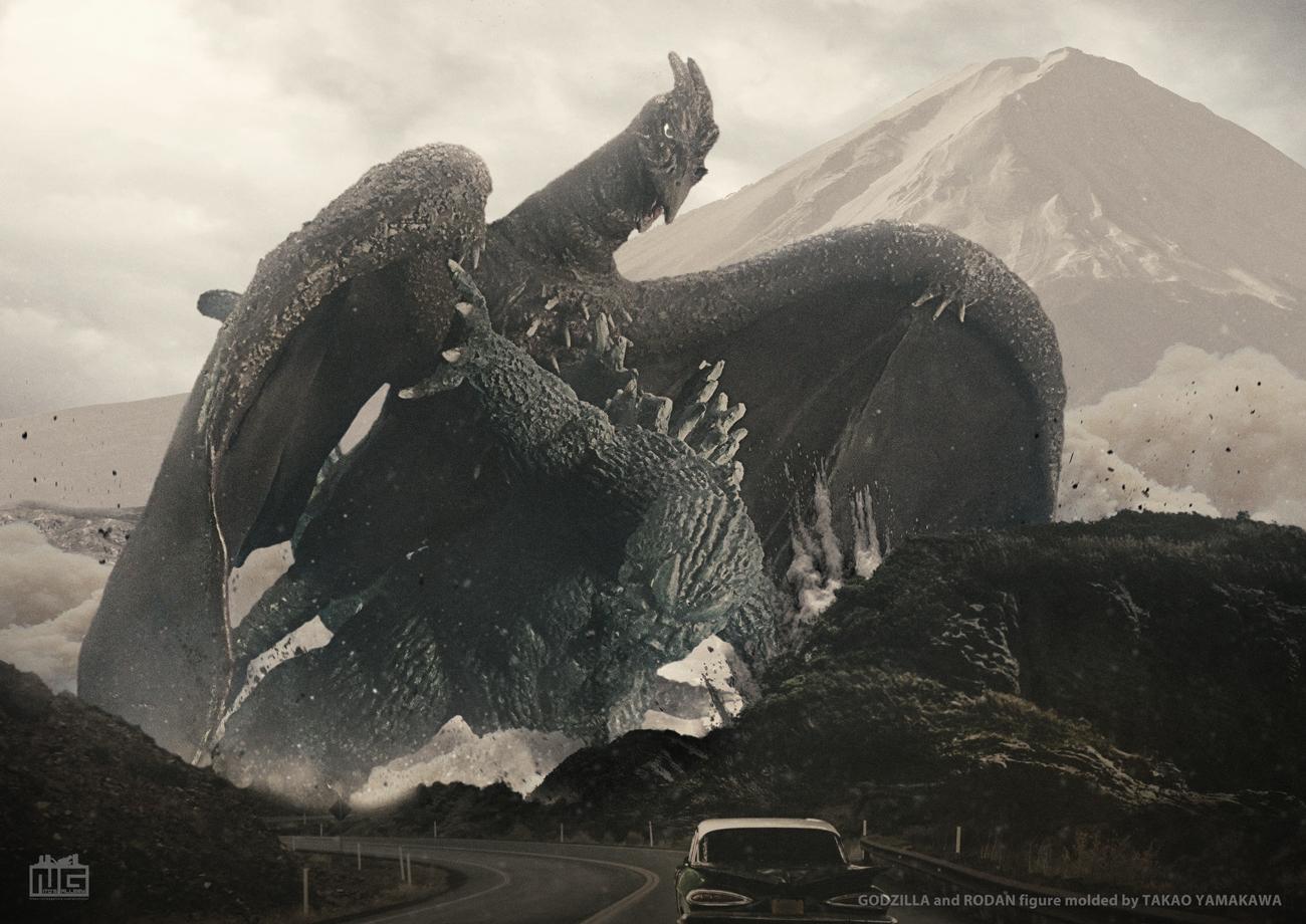 【デジラマ】地球最大の決戦(造形:山川隆生氏)