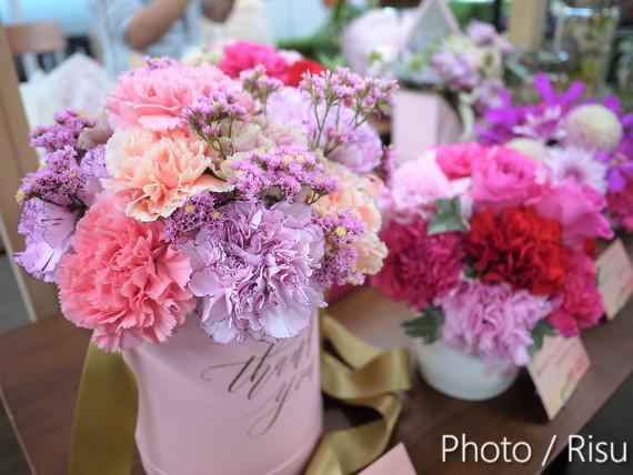 2019母の日人気&注目フラワーギフトとは?日比谷花壇展示会でチェックしてきました。