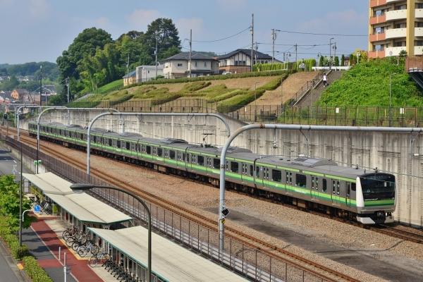 2018年7月15日 JR東日本横浜線 橋本~相模原 E233系H019編成