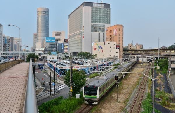 2018年7月15日 JR東日本横浜線 小机~新横浜 E233系H020編成