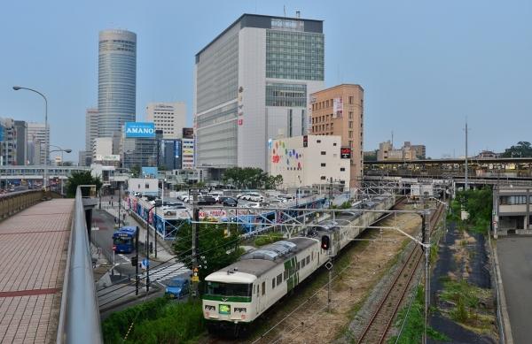 2018年7月16日 JR東日本横浜線 小机~新横浜 185系B3編成