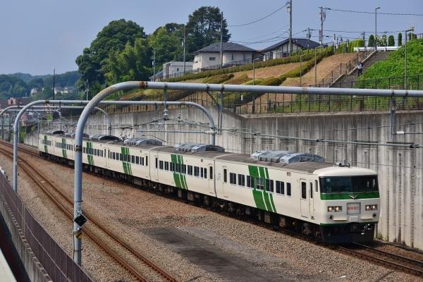 2018年7月18日 JR東日本横浜線 相原~八王子みなみ野 185系B3編成
