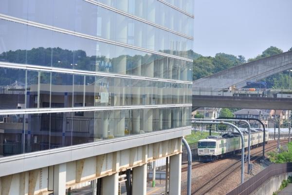 2018年7月18日 JR東日本横浜線 八王子みなみ野 185系B3編成