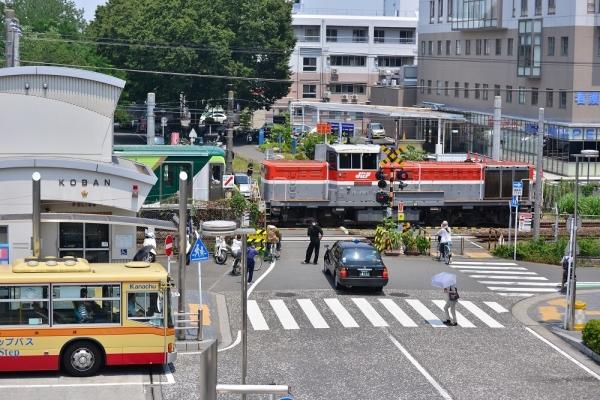 2018年7月18日 JR東日本横浜線 相模原~矢部 DE10-1749+東急7000系7114F+7112F