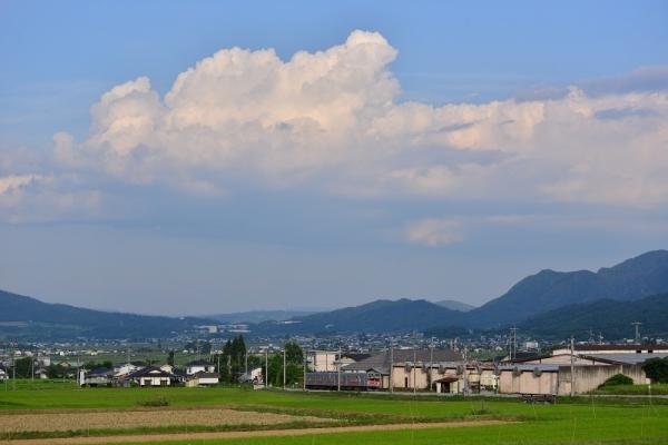 2018年7月24日 上田電鉄別所線 八木沢~別所温泉 1000系1001編成