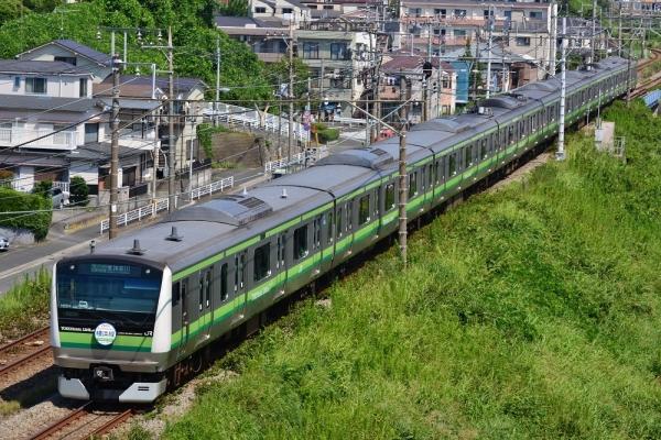 2018年8月1日 JR東日本横浜線 菊名~大口 E233系H001編成