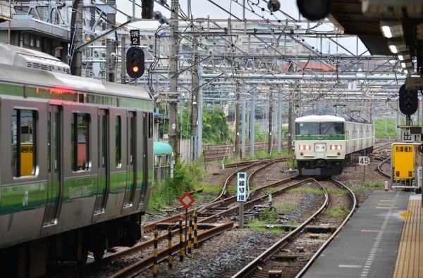 2018年8月12日 JR東日本横浜線 東神奈川 185系B3編成