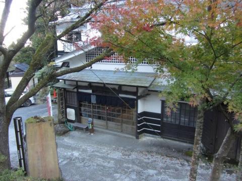畑の茶屋と箱根旧街道