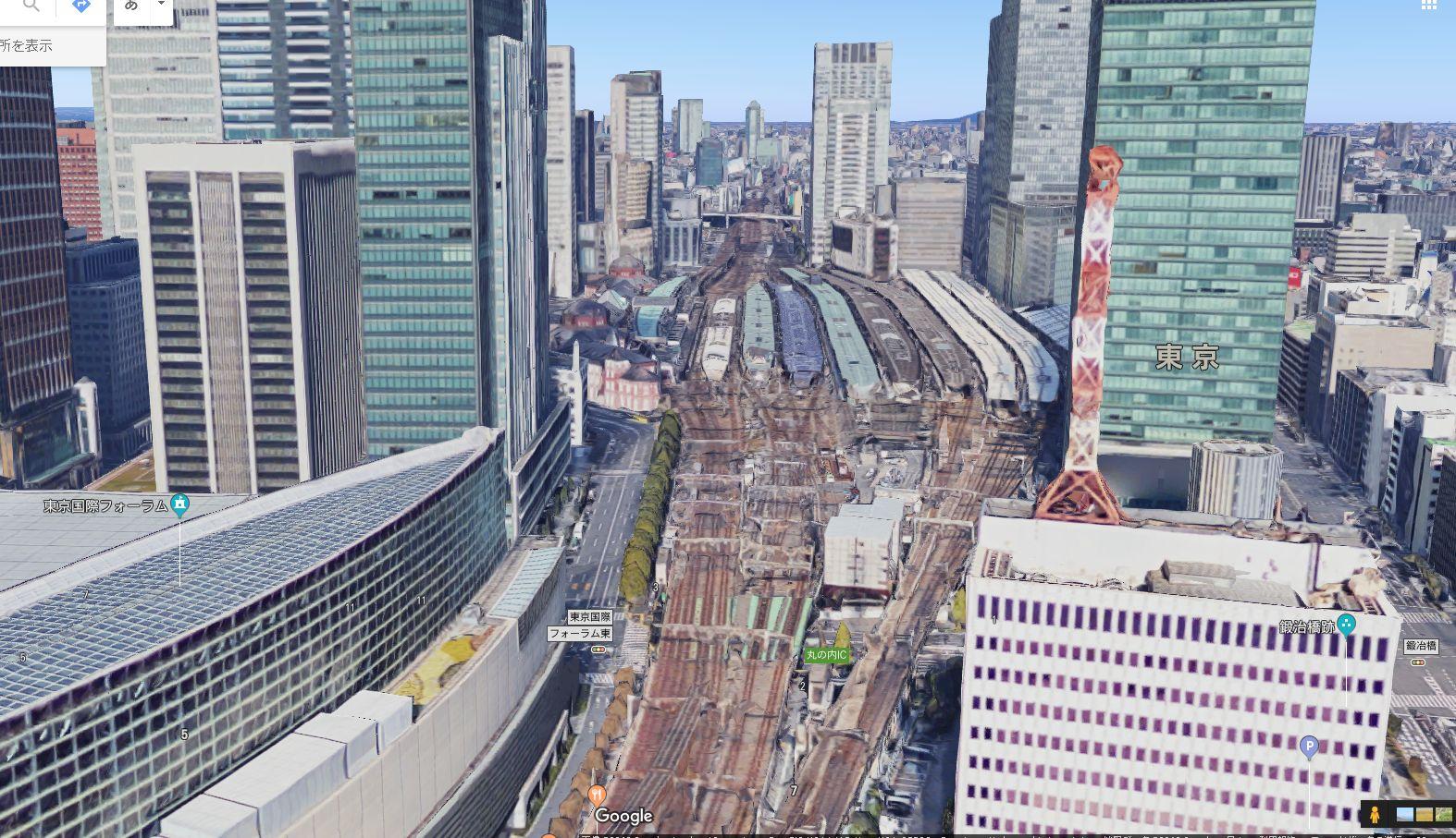 東京駅 有楽町側から