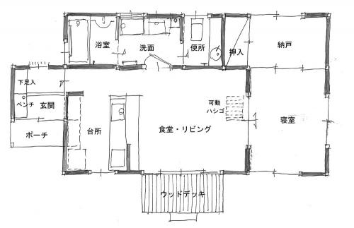 Bタイプ1階平面310216