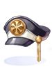 剛勇無双の紋帽子