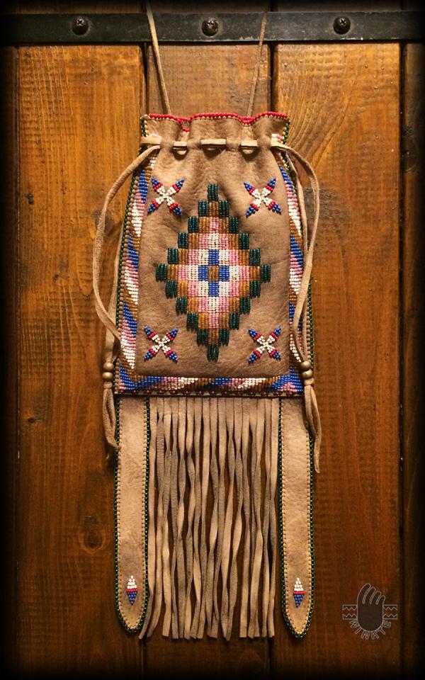 Apache Style Beaded Bag 1 logo ver