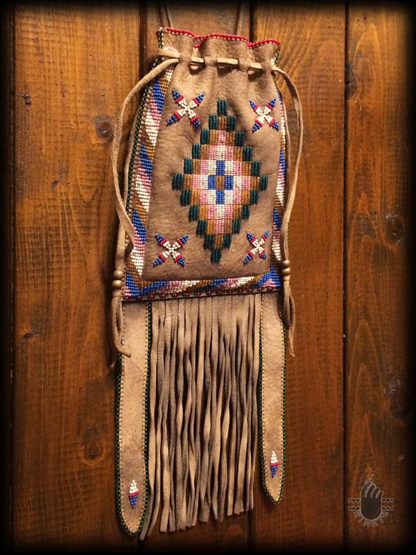 Apache Style Beaded Bag 2 logo ver