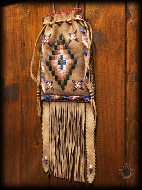 Apache Style Beaded Bag 3 logo ver