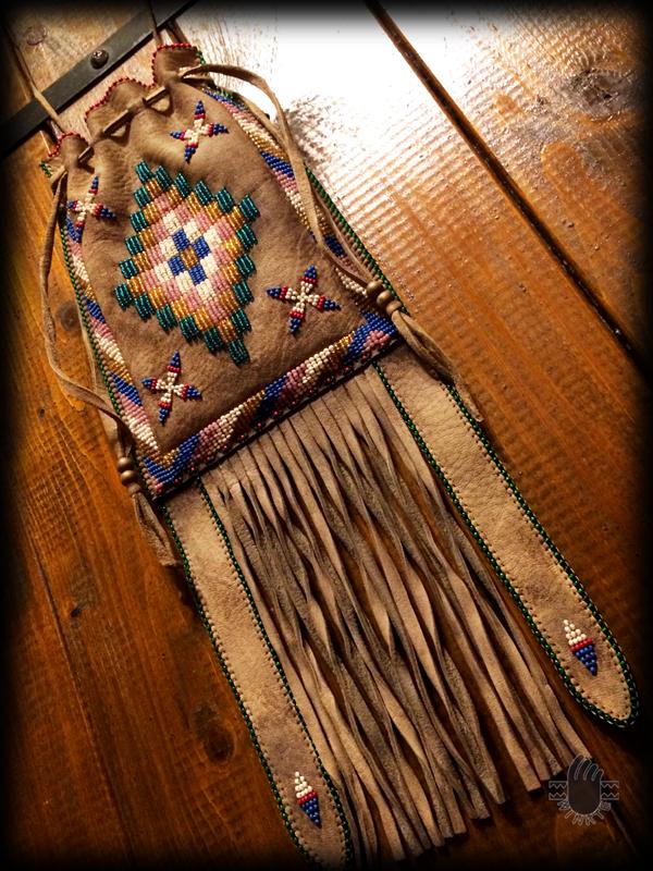 Apache Style Beaded Bag 4 logo ver