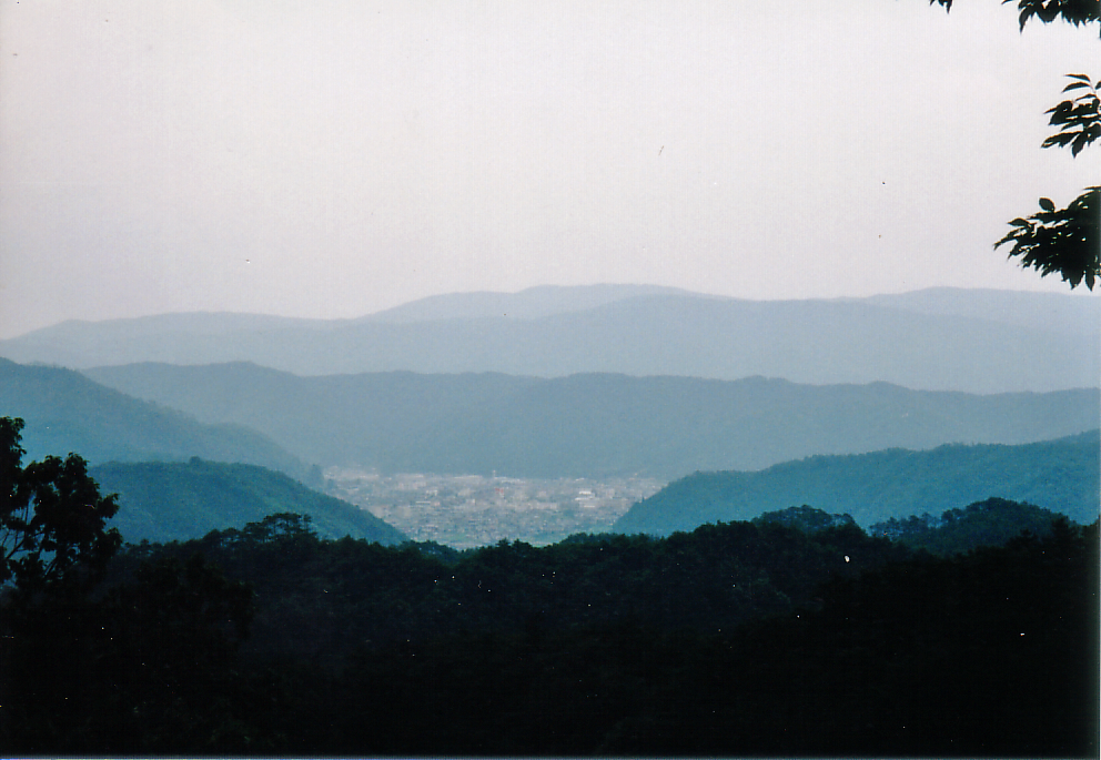 猿掛城 本丸からの展望