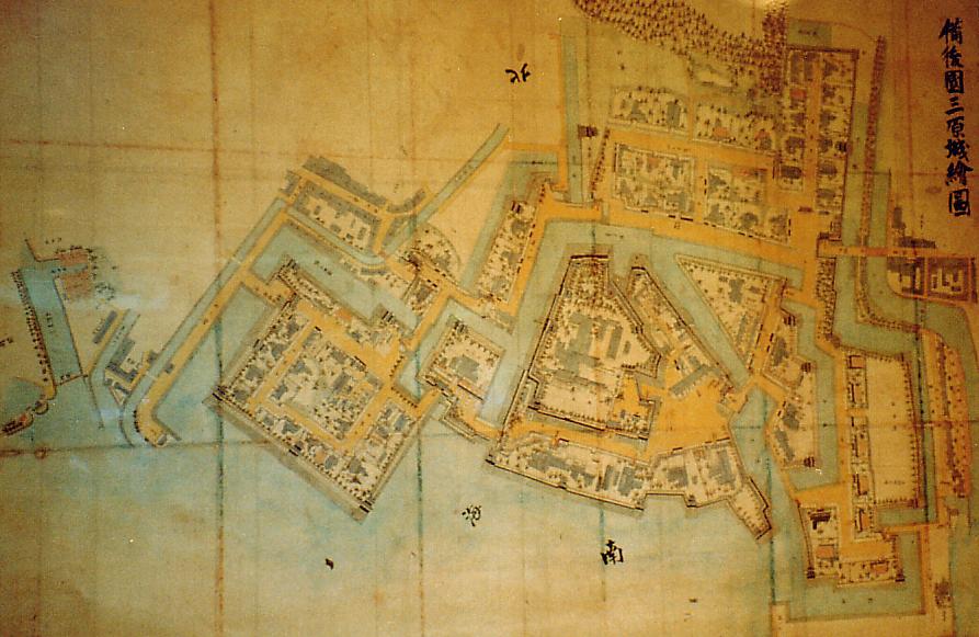 三原城 絵図
