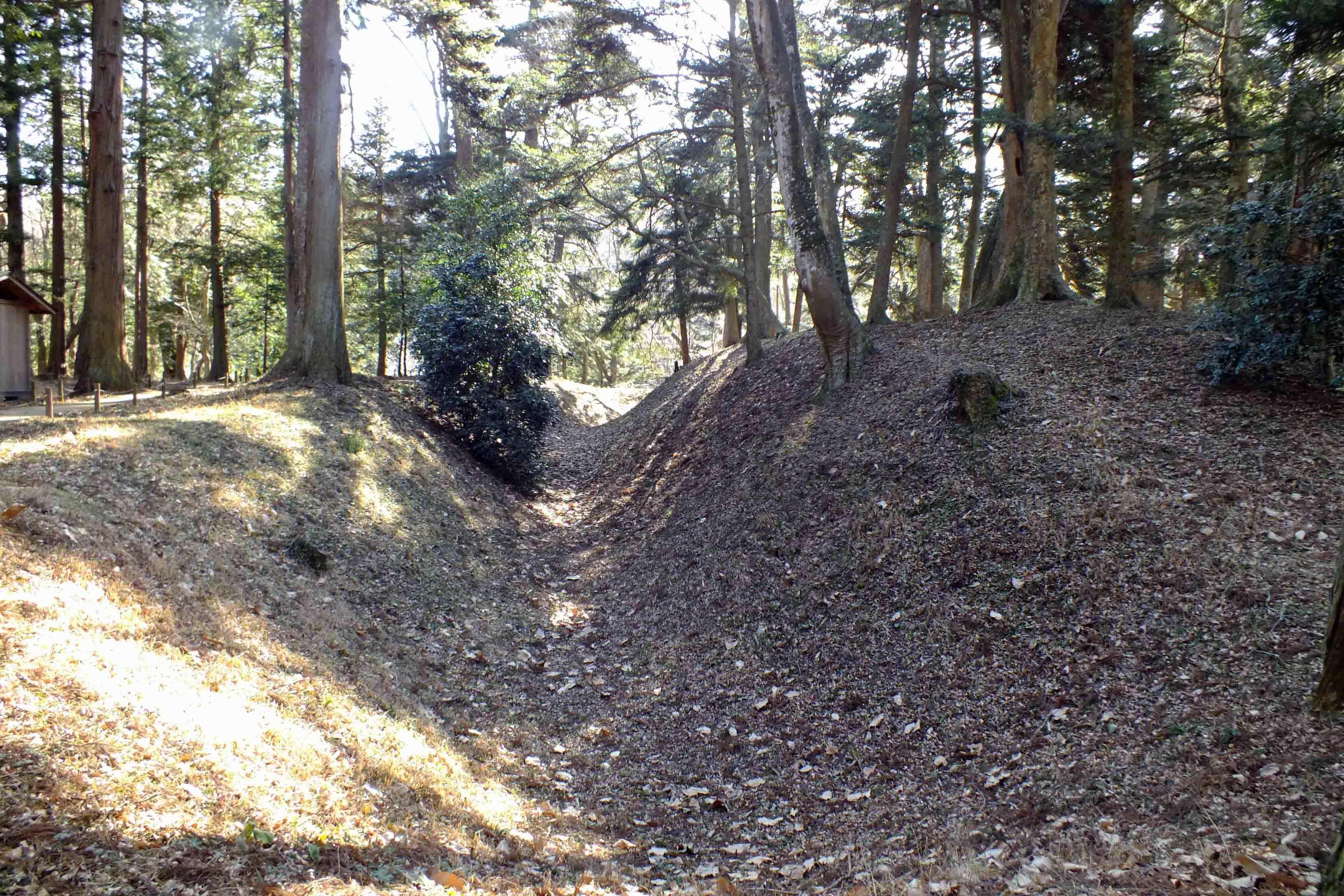 北側の空堀