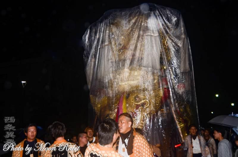 朔日市みこし(御輿) 西条地区後夜祭