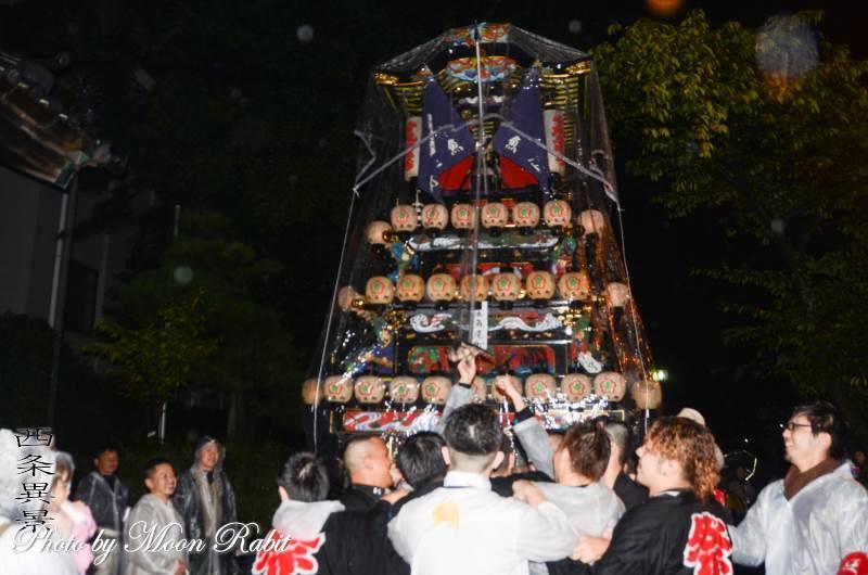 魚屋町だんじり(屋台) 西条地区後夜祭