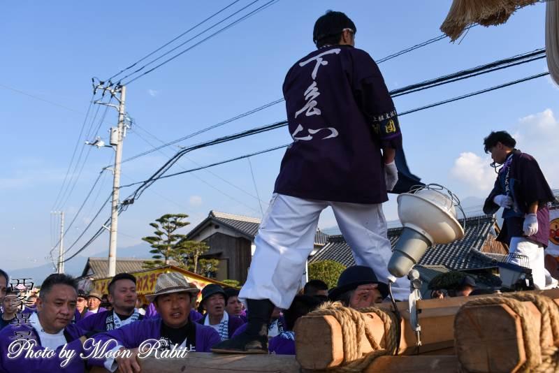 下島山上組太鼓台 祭り装束