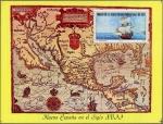 メキシコ・17世紀の古地図