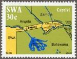 ナミビア・カプリヴィ回廊