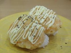 サクッとサーモンナゲット寿司