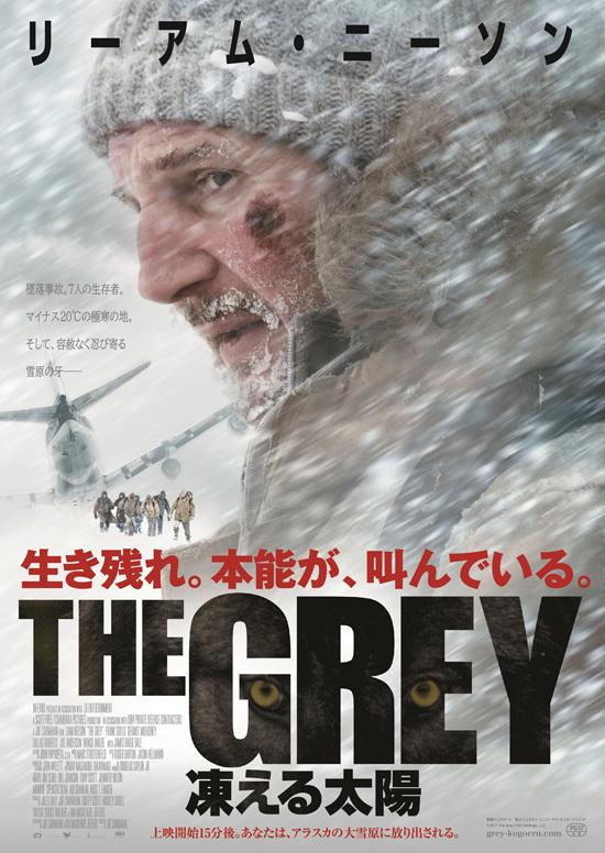No1581 『THE GREY 凍える太陽』